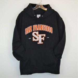 San Francisco Giants Embroidered Hoodie Sweatshirt